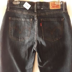 New Levi's 525 perfect waist straight